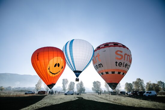 Hot Air Balloon Tirana
