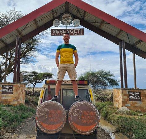 Serengeti National park Tanzania Happy Clients from Romania