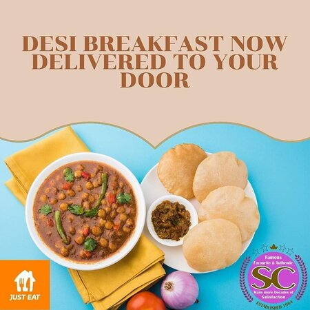 Feeling the cold?🥶 We have exclusively Partnered up with Just Eat UK  . Our World famous Desi Breakfast now delivered to your door! Order now - https://www.just-eat.co.uk/restaurants-sweetcentre-bradford/menu  #justeat #justeatuk #SWEETCENTRE #bradford #delivery #original #desibreakfast #eatwell #yummy #foodie #fresh #breakfastinbed