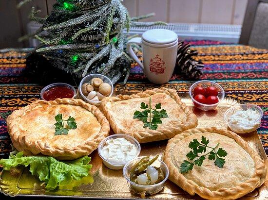 Pyragų rinkinys dabar tik 24,90€  - 4 asm. Ajaklyk Kiubetień Pyragas su žuvimi  Numeris užsakymams: +370 698 06320