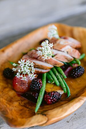 Farm fresh and locally sourced for a true Farm to Table Experience!