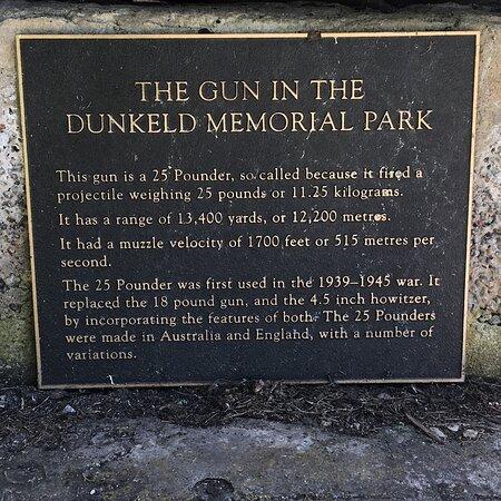 Dunkeld Memorial Park