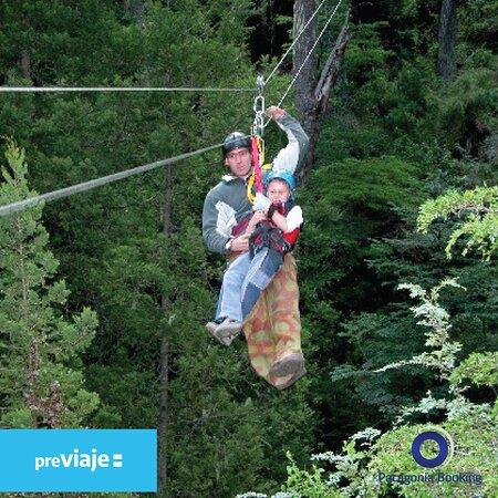 Sentí la sensación de volar en medio del bosque! llamanos o escribinos por whatsapp y hacemos tu reseva de canopy.