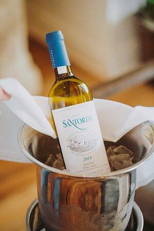 Santorini Sigalis Wine