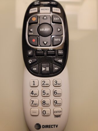 Dirty TV remote