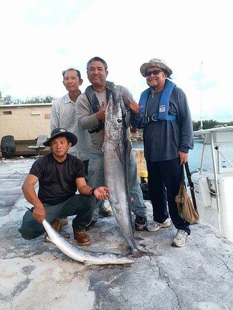 Ilha Wake: Fishing tip on Wake Island 2006