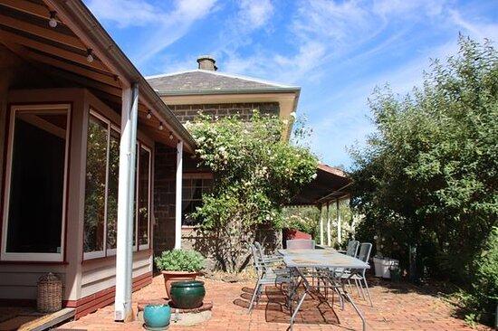 Homestead exterior and garden