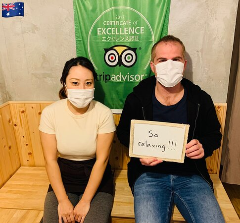 He came during immigration from Australia. 🇦🇺 Thank you very much! We hope your stay in Japan will be a happy and healthy time.