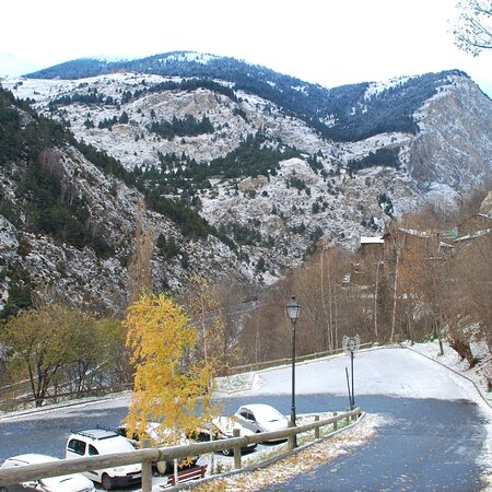 ANDORRA AND ITS SNOWY MOUNTAINS