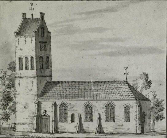 Grote Kerk Allingawier