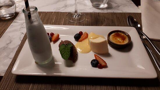Hausern, Deutschland: Dessert-Variation