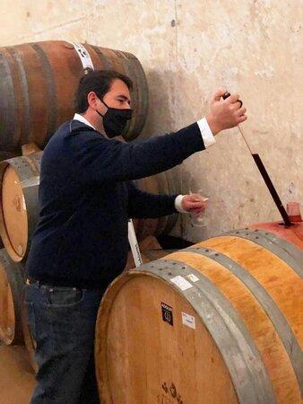 Visita Bodegas Santalba en Gimileo La Rioja