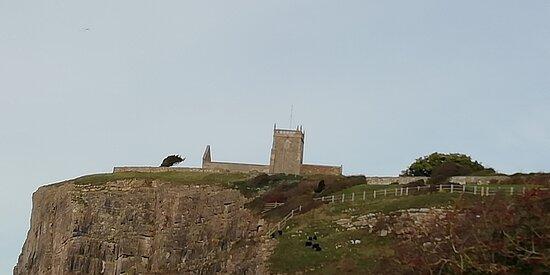 Church atop the hill