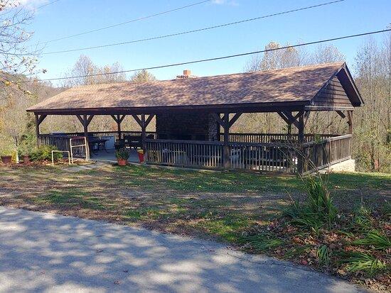 Large pavilion for get togethers