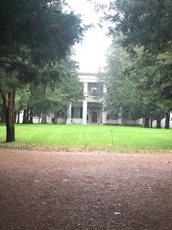 Andrew Jackson's Hermitage Grounds Pass +: Front of main house.