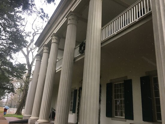 Andrew Jackson's Hermitage Grounds Pass +: Close view of the front of the house.