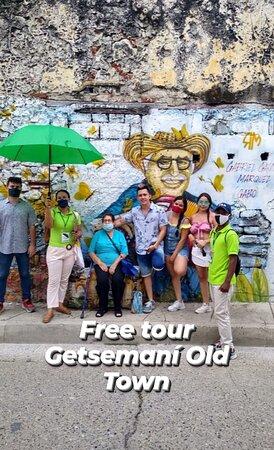 Getsemani Neighbourhood Tour in Cartagena: FREE TOUR GETSEMANI OLD TOWN!  Crea recuerdos inolvidables de la Cartagena colonial. Asegúrese de llevar su cámara mientras descubres las iglesias, balcones y puertas del centro histórico, descubriendo una ventana en un momento más mágico y romántico.