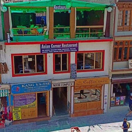 Asian corner restaurant location