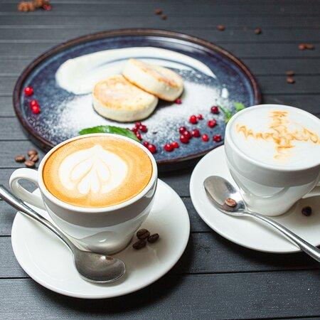 Каждое утро мы открываем для Вас свои двери что бы напоить свежесваренным ароматным кофе и сытным завтраком!