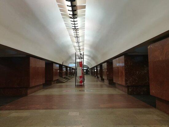 Ploshhad Ilicha Metro Station