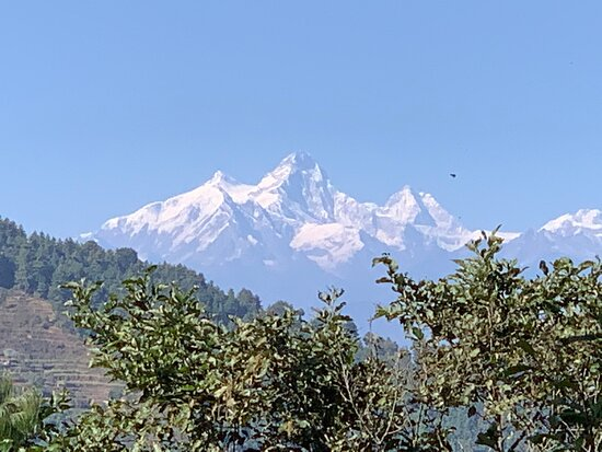 A view from kakani trip!