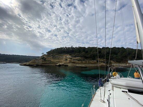 Westlich von Palma in einer Bucht