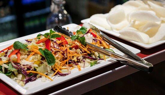 Fresh thai tasty salad