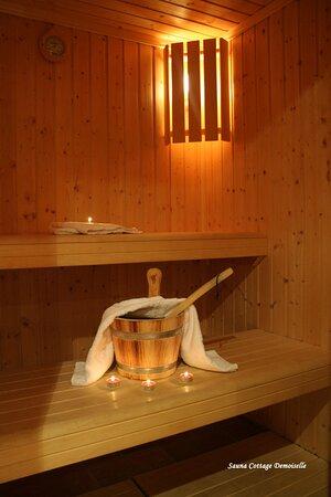 sauna cottage Demoiselle