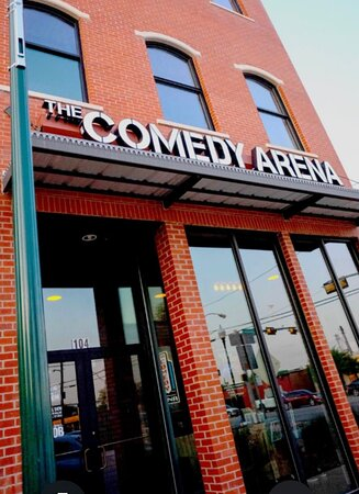 The Comedy Arena. We reserve the right to serve everyone.
