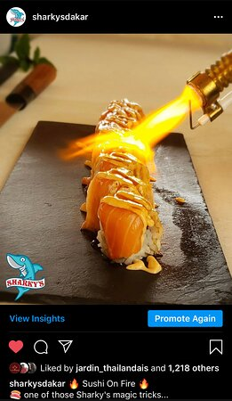 Always on fire with our Sushi choices