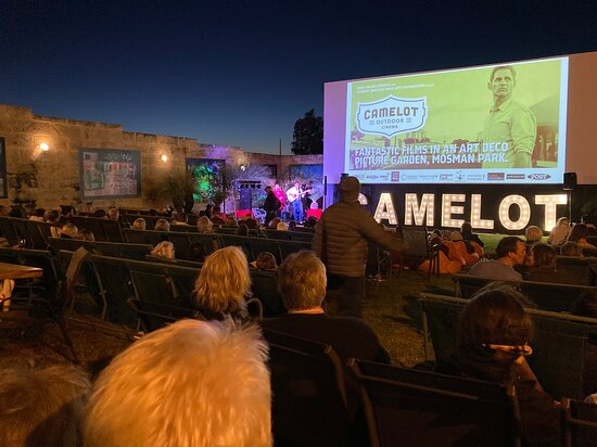 Camelot outdoor cinema