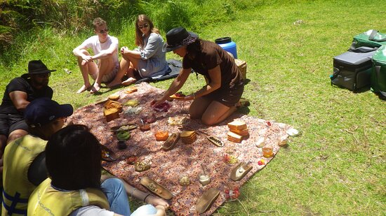 Margaret River Canoe Tour Including Lunch: those bush tucker food are so unique and so tasty