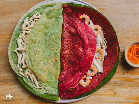 BÁNH XEO - VIETNAMESE CREPE WITH NEW RECIPES