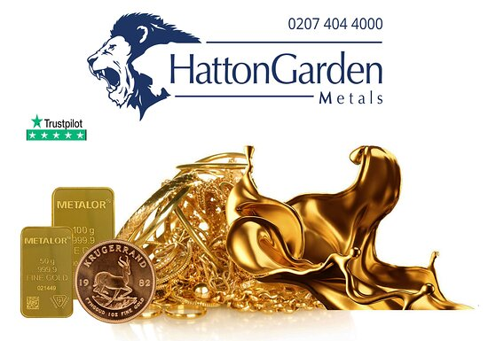 Sell your gold for cash in London and receive same day payments.