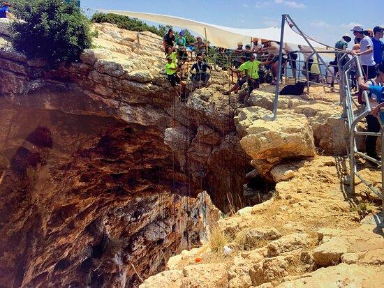 Shlomi, Israel: Keshet Cave