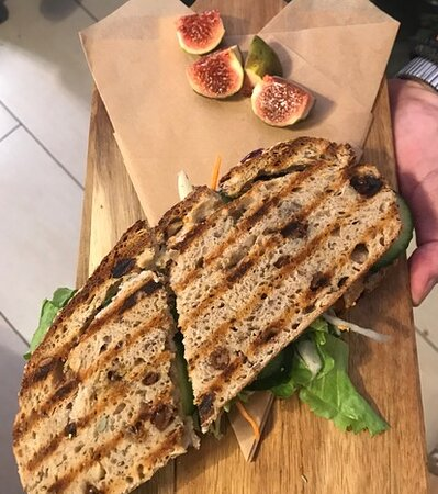 One of our sandwiches.