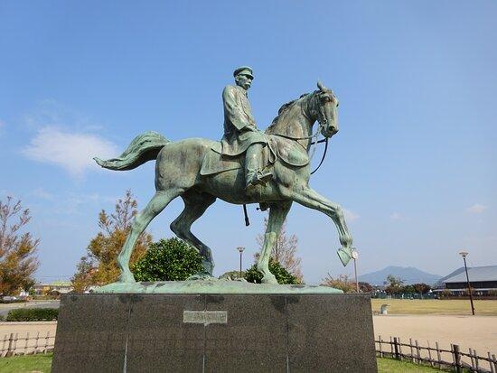 Kusaka Genzui Shingeki Bronze Statue