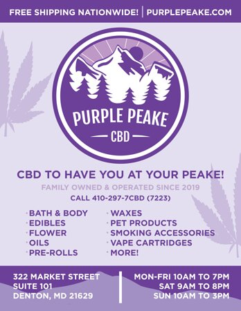 CBD to have you at your Peake!