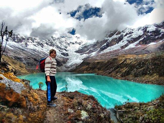 Chacas, بيرو: Allicocha, bellísima laguna en Chacas.   4 horas de caminata aproximadamente de ida y 3 horas de retorno