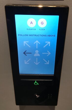 Very confusing instructions, very badly designed lift console slowing the lifts down.