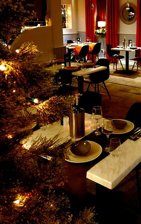Woolpit, UK: Ready for Christmas!