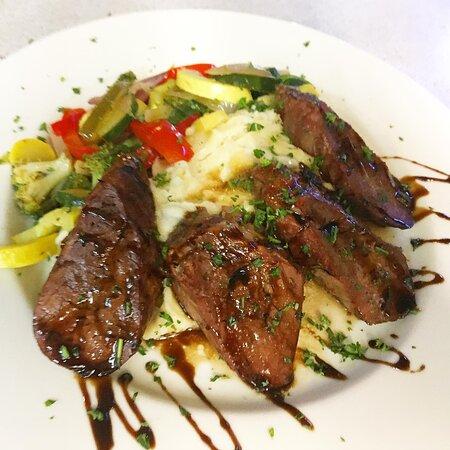 Grilled Pork Tenderloin with Balsamic Glaze