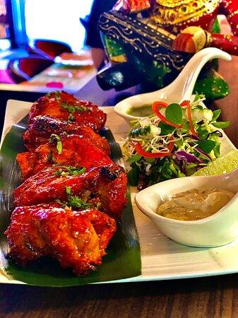 Delicious Chicken tikka at Mayur Indian Kitchen Taichung
