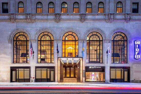 Aloft Philadelphia Downtown, hôtels à Philadelphie