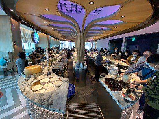 食材優,料理好,景觀讚,服務好的高價自助餐廳