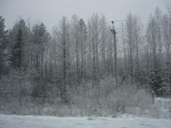 Permsky District, Oroszország: Зимняя красота