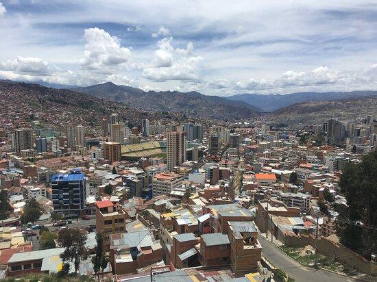 La Paz city view