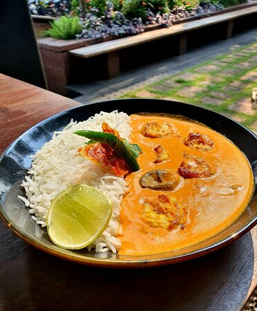 Prawn Curry Rice Bowl