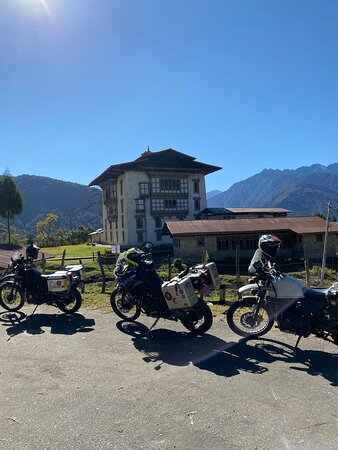 Heartily recommend Bhutan TUSK for motorcycling tours