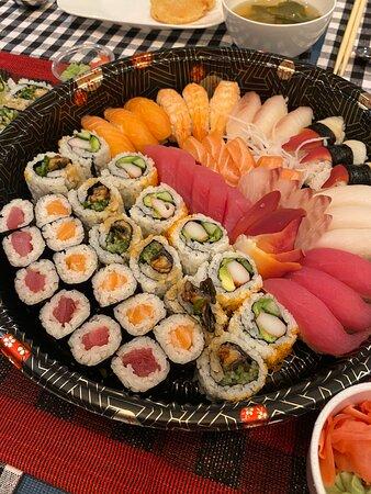 Contaminated sushi - food poisoning